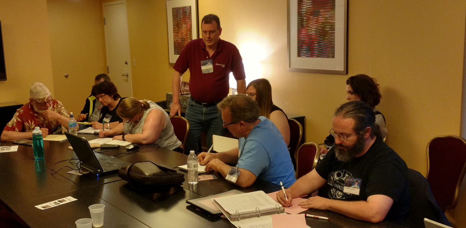 David Keener, Workshop at Balticon