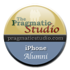 iPhone Alumni Button