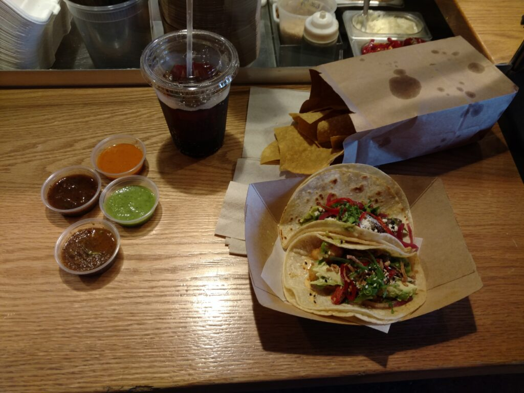 Lunch, at Taco Bamba